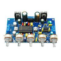 LM4610 + NE5532 HIFI Dual Channel Preamplifier Tone Board Dual AC12V-15V