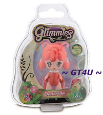Glimmies Dotterella Fairy Doll Magically Lights Up Dark Single Red Ladybug 2.5""