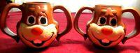 2 vintage Nestle Quik hot chocolate mugs