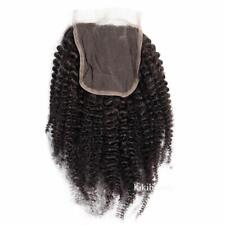 Afro kinky Curly Human Hair Closure Swiss Lace for Black Women Virgin Closure