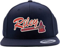 Atlanta Braves Austin Riley Logo Embroidered Snapback Hat