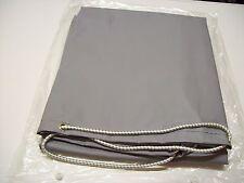 Grey Vinyl trailer cover Daxara 107 / Erde 102 /  Maypole 6810 with elastic cord
