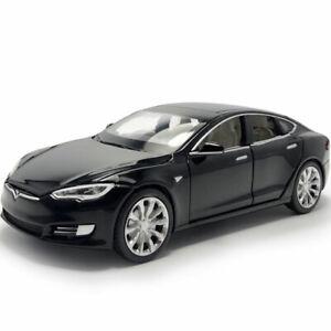 Tesla Model S 100D 1:32 Model Car Diecast Gift Toy Vehicle Kids Collection Black