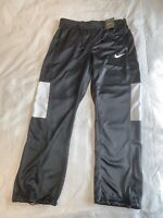 $55 Nike Dri Fit Women's Rivalry Basketball Pants Women's LARGE Black 822532-012