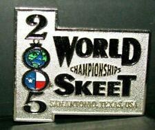2005 Nssa National World Skeet Trap Shoot Championships Award Pin San Antonio Tx