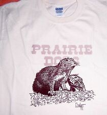 Cowart Prairie Dog T-Shirts - Animal, Original Art