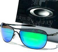 NEW* Oakley CROSSHAIR Black POLARIZED Galaxy JADE Sunglass 4060