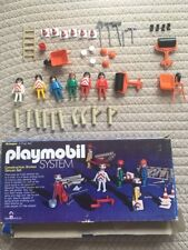 Playmobil System Construction Worker Deluxe Set Schaper RARE 1970s LOT VIntage