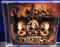 House of Krazees - Casket Cutz CD Signed HOK twiztid mr bones the r.o.c. cuts
