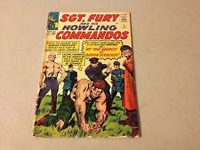 SGT FURY AND HIS HOWLING COMMANDOS #5 Marvel 1st Appearance of BARON STRUCKER aa