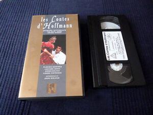 VHS Video Offenbach Hoffmanns Erzählungen Covent Garden Domingo Serra Baltsa