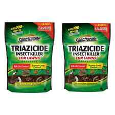 2 Pack Spectracide Triazicide Insect Killer For Lawns Granules, 20Lb Bag