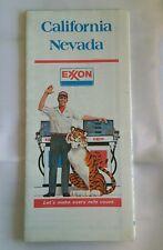 1977 Exxon California Nevada Highway & Road Map
