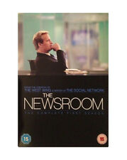 The Newsroom Complete Series 1 DVD All Episode First Season Original UK NEW R2