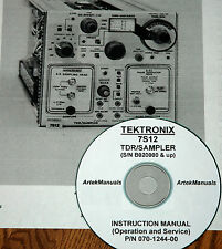 TEKTRONIX 7S12 TDR SERVICE  MANUAL