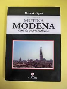 MUTINA MODENA CITTà DEL QUARTO MILLENNIO - EDIZ.ITALCARDS 2001
