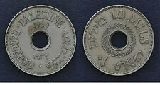 PALESTINE - RARE VINTAGE 10 MIL COIN 1939 YEAR HIGH CATALOGUE VALUE KM#4