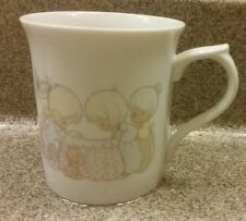 Precious Moments Month Of Octomber Ceramic Cup 1986 Autumn Harvest Sam Butcher
