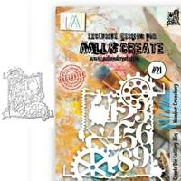 Gear numbers Cutting Dies Stencil DIY Scrapbooking Album Paper Card Embossing