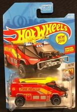 Hot Wheels Runway Res-Q Airport Fire Rescue HW Metro 4/10 New 2017