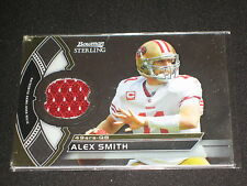 Alex Smith 49Ers Star Legend Authentic Event Game Used Jersey Football Card