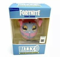 "NEW Bitty Boomers: Fortnite Wireless Bluetooth Speaker ""Rabbit Raider"" Free Ship"
