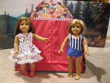Doll Tent and Sleeping Bag Camping Set New Handmade Super Fits American Girl