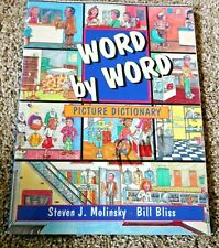 Word by Word Picture Dictionary - Improve Vocabulary - Free Shipping