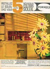 A- Publicité Advertising 1963 Meubles Mobilier Cuisine Formica