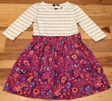 Gap Kids Girls Medium (8-9) Bright Floral And Striped Dress. Nwt