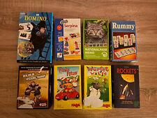 8 Kinderspiele Spiele Konvolut Sammlung