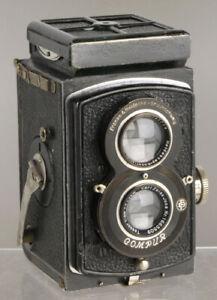 Rolleiflex Standard (1935) Zeiss Jena Tessar lens _vintage TLR 6x6cm film camera