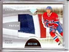 2011-12 Ultimate Collection Debut Threads Patch Alexei Emelin RC /100 SICK 3clrs