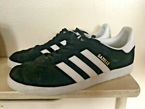 Adidas Gazelle Black  Trainers  sneakers  size 8  Mens