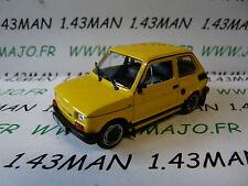 VOITURE 1/43 IXO déagostini POLOGNE : FIAT 126 P FL
