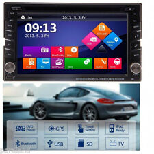 "Tocado 6.2"" Double DIN Car Radio Stereo DVD Player GPS Navigation iPod+Map+Cam"
