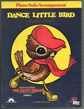 Dance Little Bird (With instructions for the dance) Sheet Music