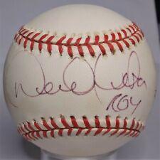 DEREK JETER SIGNED OAL BASEBALL INSCRIBED ROY 260/1996 NEW YORK YANKEES JSA LOA
