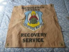 Modern V/N Aerospace Rescue Recovery Service Ready Room Bar Wall Flag