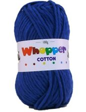 Cygnet Whopper Cotton Super Chunky Knitting Yarn 100g - 8 Shades Available Cobalt 612