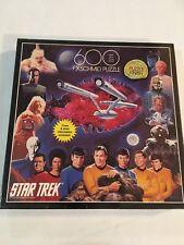 Star Trek F X Schmid Puzzle 600 Piece 1993 StarTrek Unopened