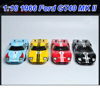 Shelby 1:18 Scale 1966 Ford GT40 MK II +1967 Ford Diecast Model Car New In Box