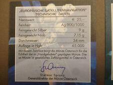 1 x ORIGINAL NIOB Zertifikat Österreich von 2006 - SATELLITENNAVIGATION !