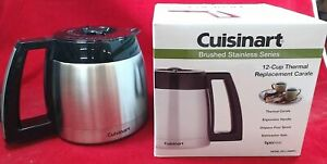 Cuisinart Coffee Maker 12-Cup Stainless Steel Carafe, DCC-2400RC GENUINE