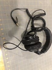 Sony MDR-V600 Stereo Pro Studio Headphones W/Adapter Needs Pads?