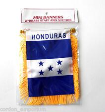 Honduras Mini Polyester International Flag Banner 3 X 5 Inches