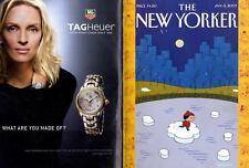 NEW YORKER MAGAZINE 8 JAN 2007, GOTHAM OF THE FUTURE, DIE WELTLITERATUR,