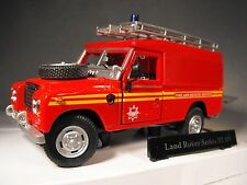 MODEL FIRE AND RESCUE TRUCK LAND ROVER SERIES 3 FIRE BRIGADE TRUCK model fire