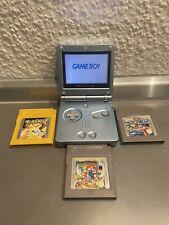 Game Boy Advance sp Pokemon Super Mario Wario