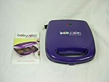 Babycakes Full Size Cupcake Maker Purple - 6 Cupcakes Nonstick Coated in Box